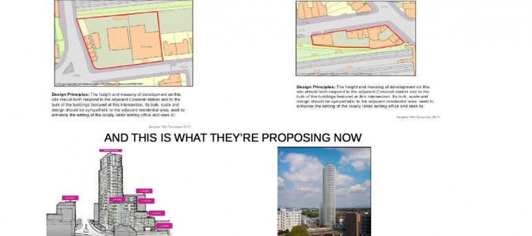 Proposed Ealing Tower Blocks