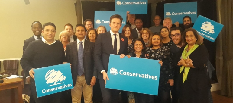 Anthony Pickles selected as Conservative candidate for Ealing North